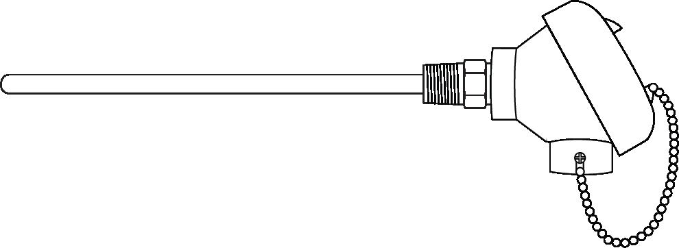 Sensor w/ connection head