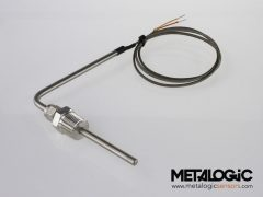 Tube & wire sensor w/ compression fitting